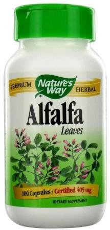 Natures Way 86246 Organic Alfalfa Leaves