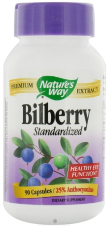 Natures Way 88305 Bilberry Standardized