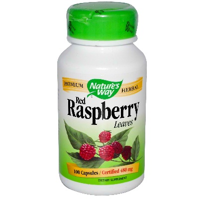 Natures Way BG16365 Natures Way Red Raspberry Leaf - 1x100CAP