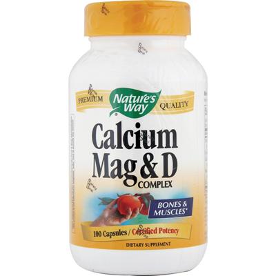 Natures Way Calcium Mag and D Complex - 100 Capsules