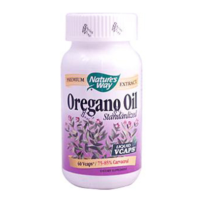 Natures Way Oregano Oil Standardized - 60 Vegetarian Capsules