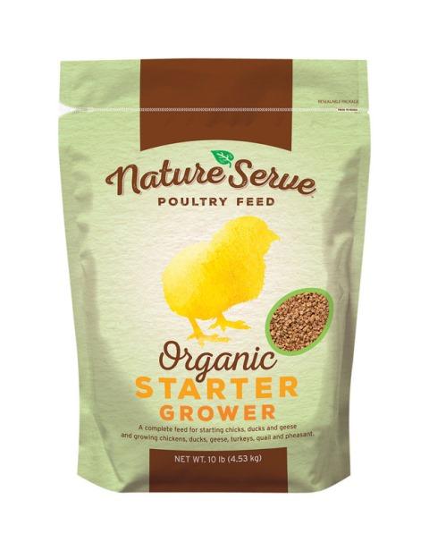 Natureserve 151010 10 lbs Chickens Organic Chicken Starter Feed