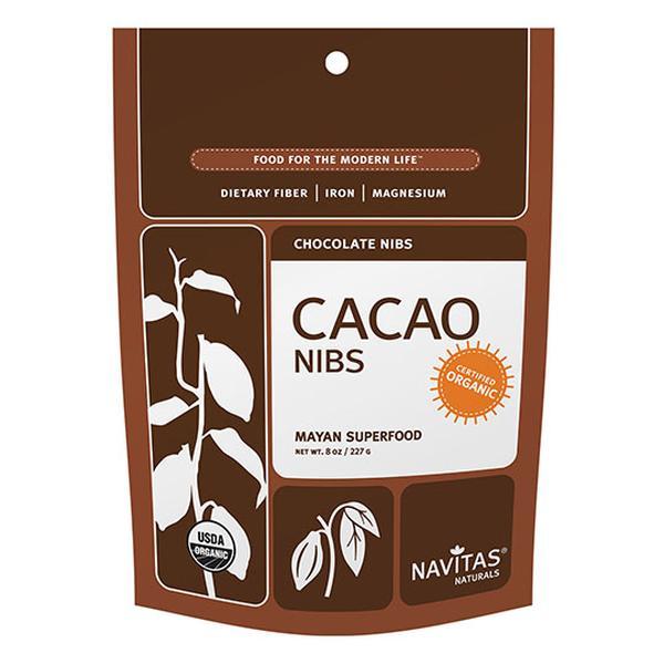 Navitas Naturals 231121 8 oz Organic Cacao Nibs