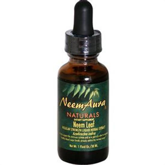 Neem Aura Herbal Neem Leaf Extract Certified Organically Grown 1 fl. oz. 29068