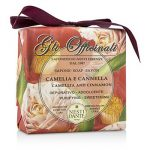Nesti Dante 200054 Gli Officinali Soap - Camellia & Cinnamon - Purifying & Sweetening 200 g-7 oz