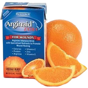 Nestle Healthcare Nutrition 85196600 8 oz Resource Arginaid Extra Arginine-intensive Orange Burst Flavor