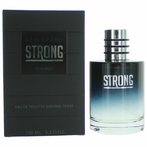 New Brand amstrnb34s 3.3 oz Strong Eau De Toilette Spray for Men