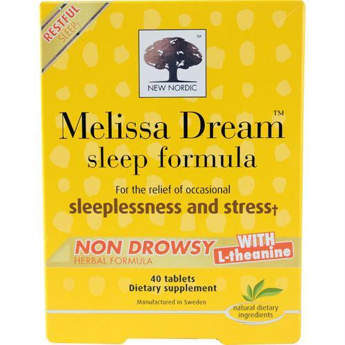 New Nordic Melissa Dream - 40 Tablets - 1519107