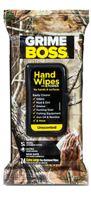 Nice Pak Products A554S24 Realtree Unscented Hand Cleaning Wipes 24 Count