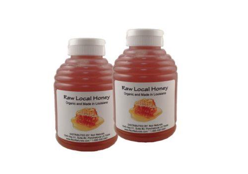 Noir Naturals RAWHONEY2 Raw Local Honey - Organic -Pack of 2