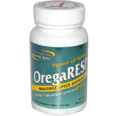 North American Herb & Spice 0167841 OregaRESP - 30 Vegetarian Capsules