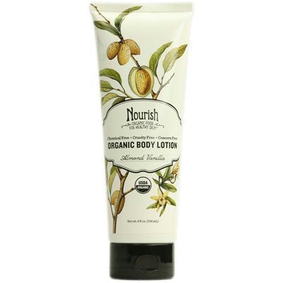 Nourish AY41555 Nourish Organic Almond Vanilla Body Lotion -1x8 Oz