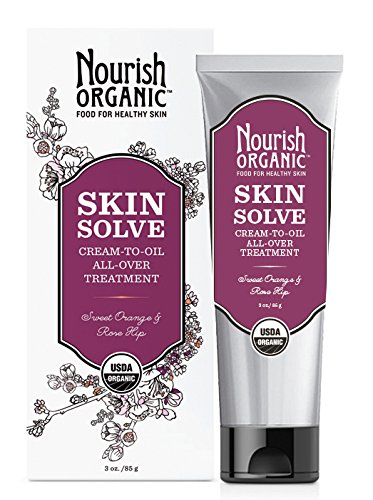 Nourish Organic Skin Solve Sweet Orange And Palmarosa - 3 Ounce