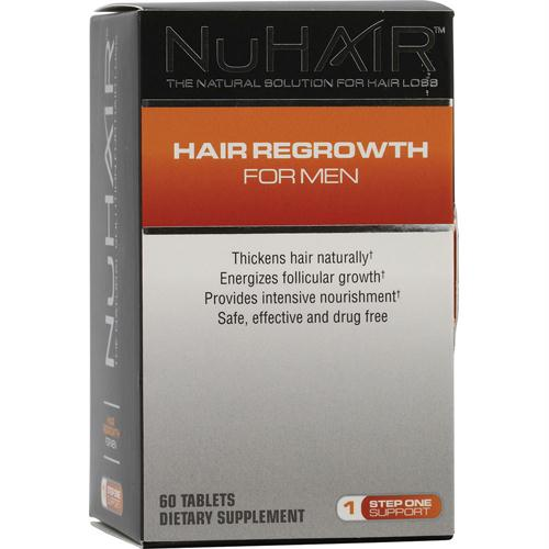 NuHair Hair Regrowth for Men - 60 Tablets - 1278977