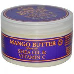 Nubian Heritage 0567784 Mango Butter Infused with Shea Oil & Vitamin C 4 oz - 114 g - 4 oz
