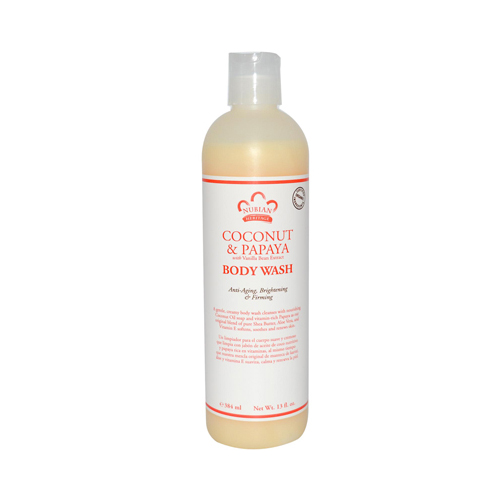 Nubian Heritage 0918169 Body Wash Coconut & Papaya - 13 fl oz