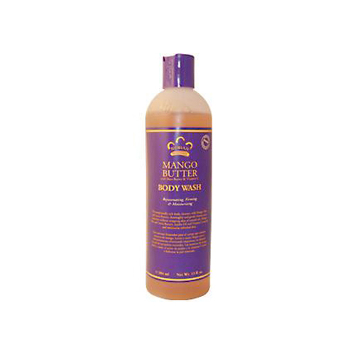 Nubian Heritage 0918193 Body Wash Mango Butter - 13 fl oz