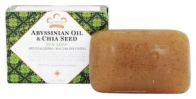 Nubian Heritage 1856707 5 oz Abyssinian Chia Bar Soap