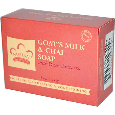Nubian Heritage Bar Soap Goats Milk And Chai - 5 oz