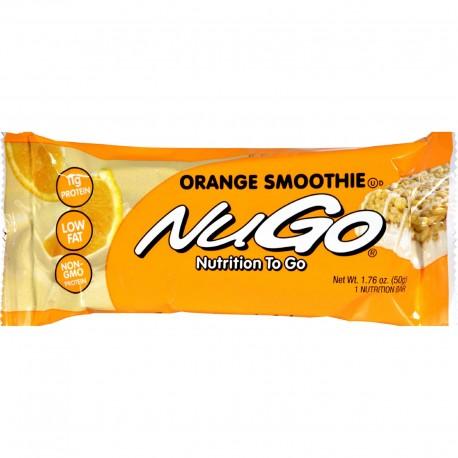 Nugo Nutrition 0427682 Orange Smoothie Bar 1.76 oz - Case of 15