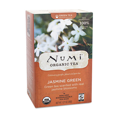 Numi Organic Tea 10108 Organic Teas and Teasans Jasmine Green - 1.27 oz.