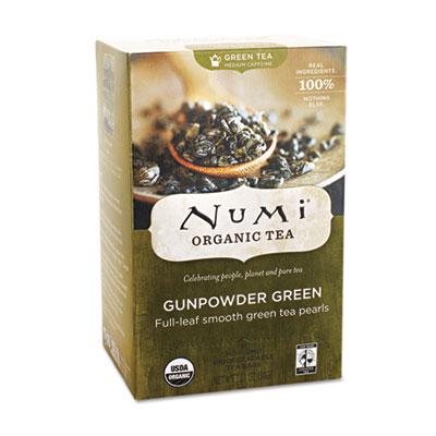 Numi Organic Tea 10109 Organic Teas and Teasans Gunpowder Green - 1.27 oz.