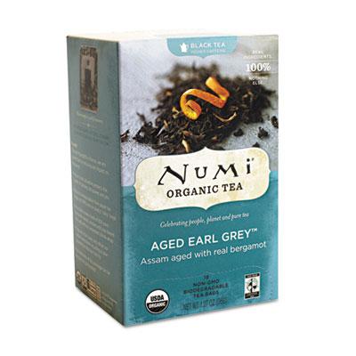 Numi Organic Tea 10170 Organic Teas and Teasans Aged Earl Grey - 1.27 oz.