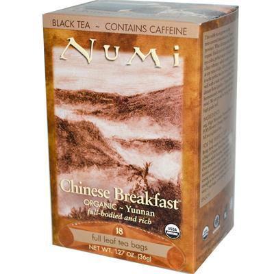Numi Tea Organic Chinese Breakfast - Black Tea - 18 Bags