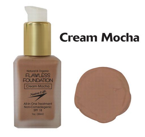 Nutra-Lift 676896000730 Cream MochaFlawless Foundation