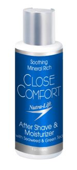 Nutra-Lift Skincare 676896000150 Close Comfort After Shave-Moisturizer - 4 oz