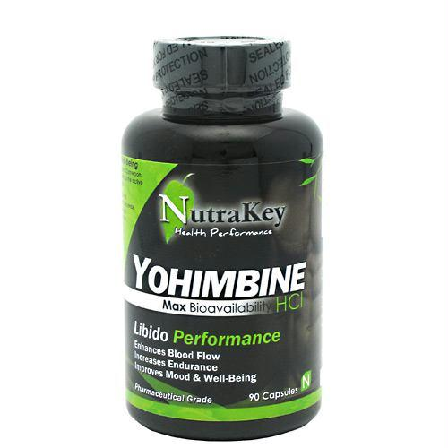Nutrakey 6150064 Yohimbine HCl - 90 Capsules
