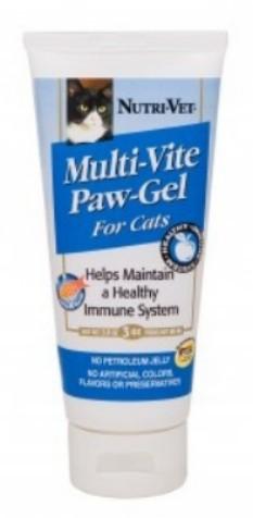 Nutri Vet 99854-0 Multi-Vite Paw-Gel For Cats - 3.0 Oz