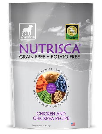Nutrisca 12391 13 oz. Chicken & Chickpea Dog Food
