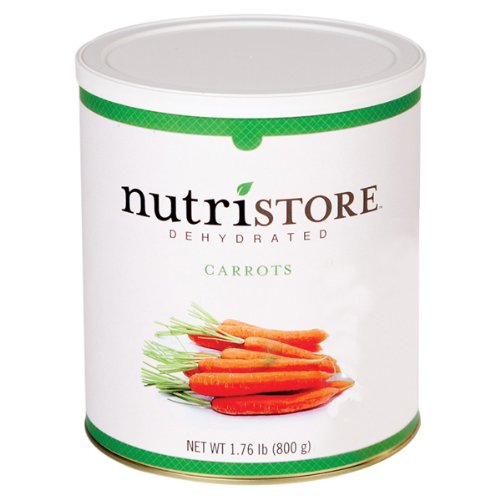 Nutristore FS1716 Carrots - Dehydrated in No.10 Can
