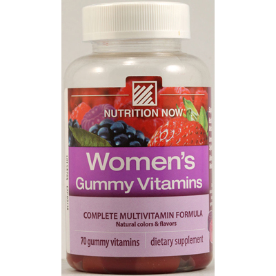 Nutrition Now 1118249 Womens Gummy Vitamins Mixed Berry - 70 Gummies