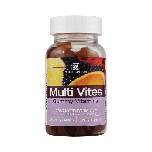 Nutrition Now 310805 Nutrition Now Multi Vites Gummy Vitamins Fruit - 70 Gummies
