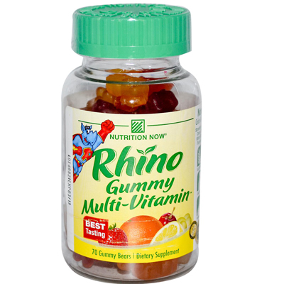 Nutrition Now Rhino Gummy Multivitamin - 60 Chewables