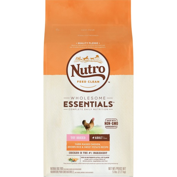 Nutro 79105122160 Wholesome Essentials Chicken Brown Rice & Sweet Potato Toy Breed