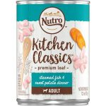 Nutro Products 79105115636 12.5 oz Nutro Steamed Fish & Sweet Potato Recipe Caned Dog Food