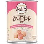 Nutro Products 79105115773 12.5 oz Nutro Tender Chicken & Rice Recipe Can Large Breed Puppy Food
