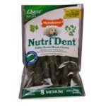 Nylabone Products Nutri Dent Medium 8 count Edible Dental Brush Chews 221099