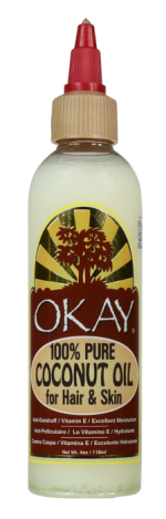 OKAY 1 Coconut Oil For Hair & Skin 118 ml - 4 oz