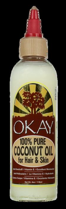 OKAY 1 Coconut Oil For Hair & Skin 118 ml - 4 oz