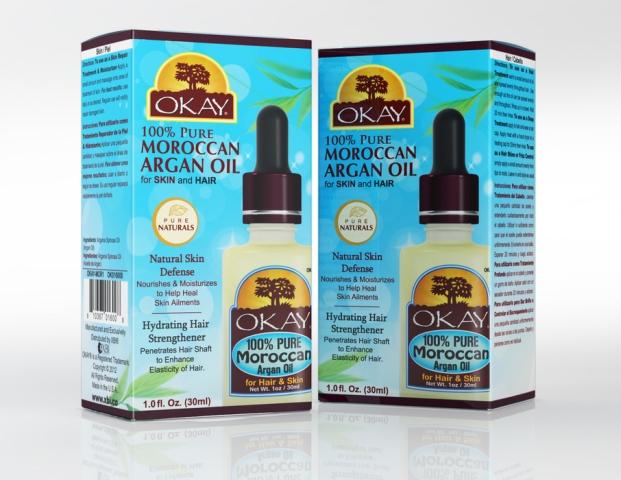OKAY 1 Pure Naturals Moroccan Argan Oil 30 ml - 1 oz