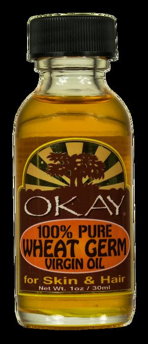 OKAY 1 Pure Wheat Germ Virgin Oil 30 ml - 1 oz