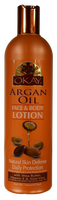 OKAY Argan Oil Face & Body Lotion 473 ml - 16 oz