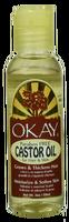 OKAY Castor Oil For Hair Skin & Body 2 oz