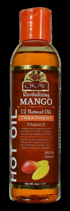 OKAY Mango Hot Oil Treatment 177 ml - 6 oz
