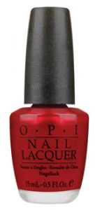 OPI NLR53 Nail Lacquer An Affair In Red Square 0.5 oz