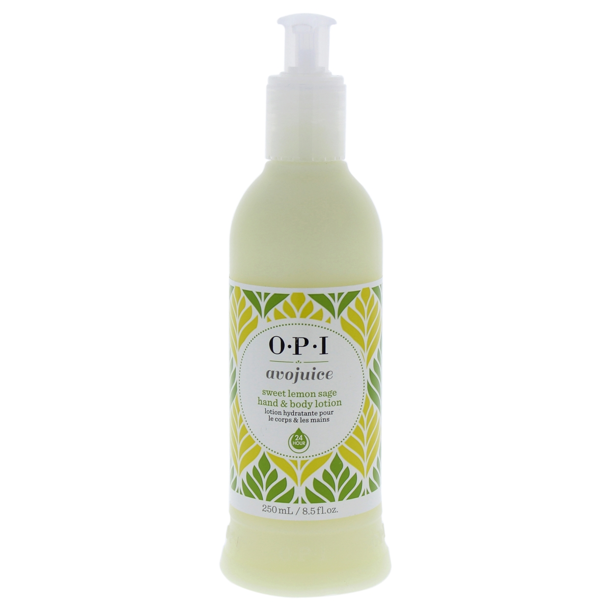 OPI W-BB-3238 Avojuice Sweet 8.5 oz Lemon Sage Hand & Body Lotion for Women